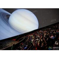 Best Giant 4D Dome Cinema With Snow And Raining Effect Hemispherical Ball Curtain Screen wholesale