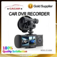 China Hot Sale Hd Dual Camera Car Dvr Recorder With Gps on sale