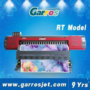 China 1.8m Digital Eco Solvent Printing Machine for Banner Label Billboard Sticker Printing on sale