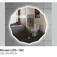 China Exotic Touch LED Bathroom Mirrors With Lights Behind , Lighted Bathroom Vanity Wall Mirror on sale