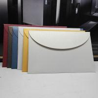 Western-style customized envelopes thickening pearl paper round flap