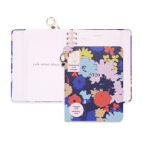 Best Cute Hardcover Spiral Planner Golden Wire Binding With Stickers / Pocket Folder / Pendant wholesale