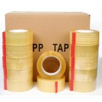 Best Custom Logo Printed reinforcement bopp packing tape made in China,Crystal Clear Box Sealing Bopp Tape for Carton Tape Di wholesale
