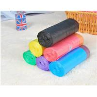 Best HDPE Packaging Home Garbage Bags , Drawstring Trash Can Liners Customized Size wholesale