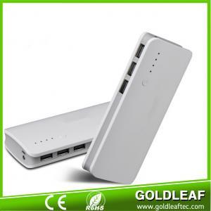 New creative 3 USB port high capacity power bank 12000mah for phone
