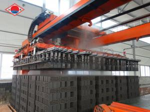 China Fully Automatic Robotic Arm Clay Brick Stacking Machine on sale