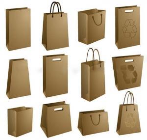Best Luxury Matte Black Shopping Paper Bag UV Clothing Packaging wholesale
