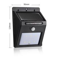 Best Auto Control Outdoor Sconce Lighting / Led Exterior Wall Lights With PIR Motion Sensor wholesale