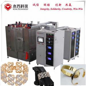 Best Bracelet  PVD Gold  Coating Machine, Stainles Steel Bracelet Gold Plating Equipment,  PVD Gold Plating wholesale