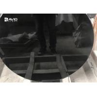 Best High Glossy Black Polished Granite Stone Tiles For Table Top Acid Resistance wholesale
