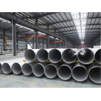 Best STAINLESS STEEL WELDED PIPE,ASTM A312 ASTM A358  TP316/316L TP321/321H BEVELLED END 100% RT. UT. HT. ET wholesale