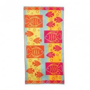 China cotton beach towel on sale