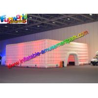 China Commercial Cube Inflatable Party Tent / 20x20 Canopy Party Tent Rental on sale