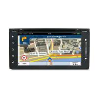 Buy cheap Mirror Link Touch Screen Car Dvd Player For Toyota Universal , Toyota Navigation System product