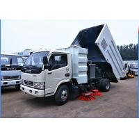 Best Dongfeng 4x2 Road Sweeper Truck 4cbm 6 Wheels With Brush Humanized Operation wholesale