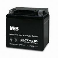 China Maintenance-free Motorcycle Battery with Vibration Resistance on sale