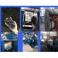 Best Pe Pp Screw Press Plastic Recycling Plant Dryer Plastic Film Dewatering Extruder Machine wholesale