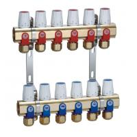 China Brass Underfloor Heating Manifold Standard ISO with Intelligentized control on sale