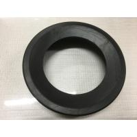 Best Round Black Durable Toilet Fittings , Toilet Rubber Gasket 30-90 Shore Hardness wholesale