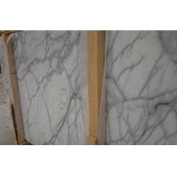 China Honed Carrara Marble Laminate Worktop , Custom Made Marble Table Top on sale