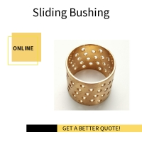Best Thin Walled Structure WB702 Flange Bronze Bushing With Holes wholesale