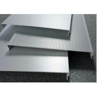 Best C100 Bevelled Edges Perforated Aluminum Ceiling Panels RAL Colors wholesale