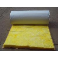 China Flexible Fiber Glass Wool Blanket Roof Insulation Materials Sound Absorption on sale