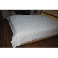Best Diamond Quilting White Queen Size Quilts Comforter For Hotel / Household wholesale