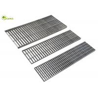 China Carbon Steel Floor Drain Grating Hot Dip Galvanized Stair Grid Catwalk Treads on sale