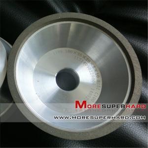 Best 11V9  100mm Superabrasive wheel resin diamond grinding wheel for CNC tool grinder  gina@moresuperhard.com wholesale