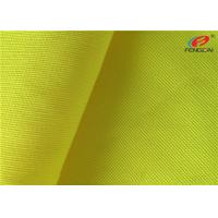 China 100% Polyester Fluorescent Material Fabric High Visibility Fabric For Safety Workwear on sale