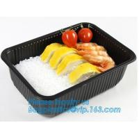 Best takeaway food container disposable plastic lunch bento box,square PLA plastic food container,fast food package essential wholesale