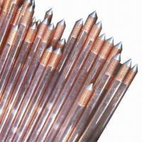 Best Ground Rods with 0.254mm Copper Thickness  wholesale