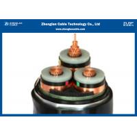 China Copper Armoured XLPE Insulated 35KV Medium Voltage Power Cables on sale