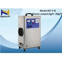 Best 110v Commercial Swimming Pool Ozone Generator Water Treatment Ozonated Water Machine wholesale