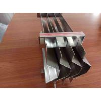China SS304 Corrugated Plate Vane Pack Mist Eliminator 170mm Net Height on sale