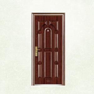 Flush Panel Custom Made Security Doors EGI Doors With Anti Theft Locksets