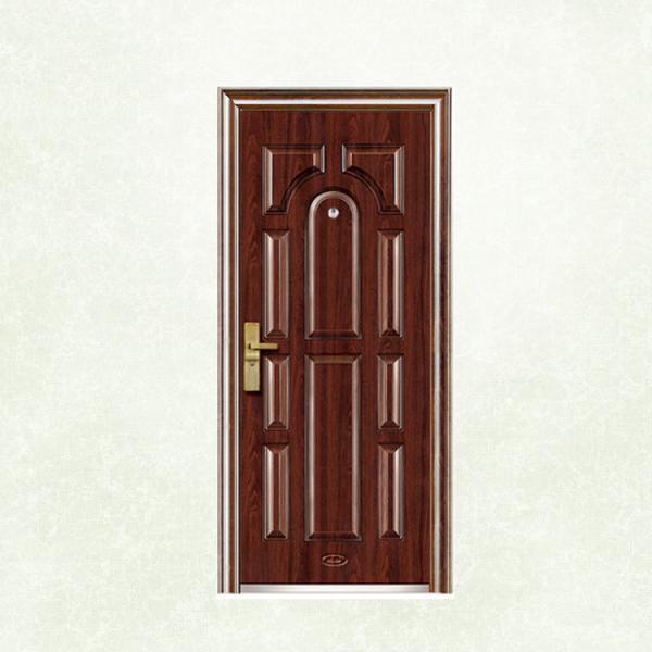 Cheap Flush Panel Custom Made Security Doors EGI Doors With Anti Theft Locksets for sale