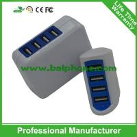 2016 brand new travel charger 4 usb wall charger