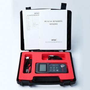 China 0.1 / 0.01mm Handheld Ultrasonic Digital Thickness Gauge For Metallic / Non-metallic Materials on sale