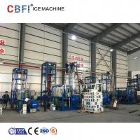 China 30 Ton Ice Tube Machine For Food Market with Stainless Steel 304 Evaporator on sale