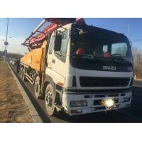 Best 2010 YEAR Second Hand Pump Truck ISUZU-SANY Brand 8×4 Drive Mode With 48m Pump wholesale