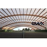 China UV Ttransparent polycarbonate corrugated roofing sheet Panels for Sport Playground on sale