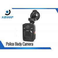 Cheap Infrared Police Wearing Body Cameras , DVR Body Worn Camera With Night Vision for sale