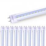 Best Pure White T8 LED Light Fixtures 18W / AC85-265V 20W T8 Led Fluorescent Tube wholesale
