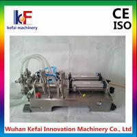 Best China supplier 1-5000ml semi automatic double head liquid filling machine wholesale