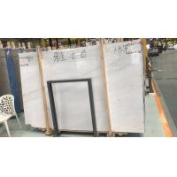 White Marble Bathroom Countertops Low Radiation Stone Material