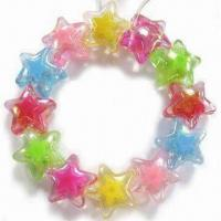 Best Children's Jewelry Bracelet, Customized Designs are Welcome, Made of Acrylic Beads wholesale