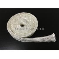 Cheap Electrical Insulation High Silica Fabric , Heat Resistant Sleeving For Cables for sale