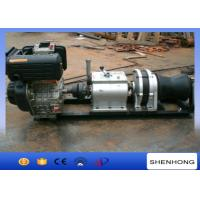 Best 9HP Air Cooled Diesel Engine Cable Winch Axle Bar Driven Tranmission wholesale